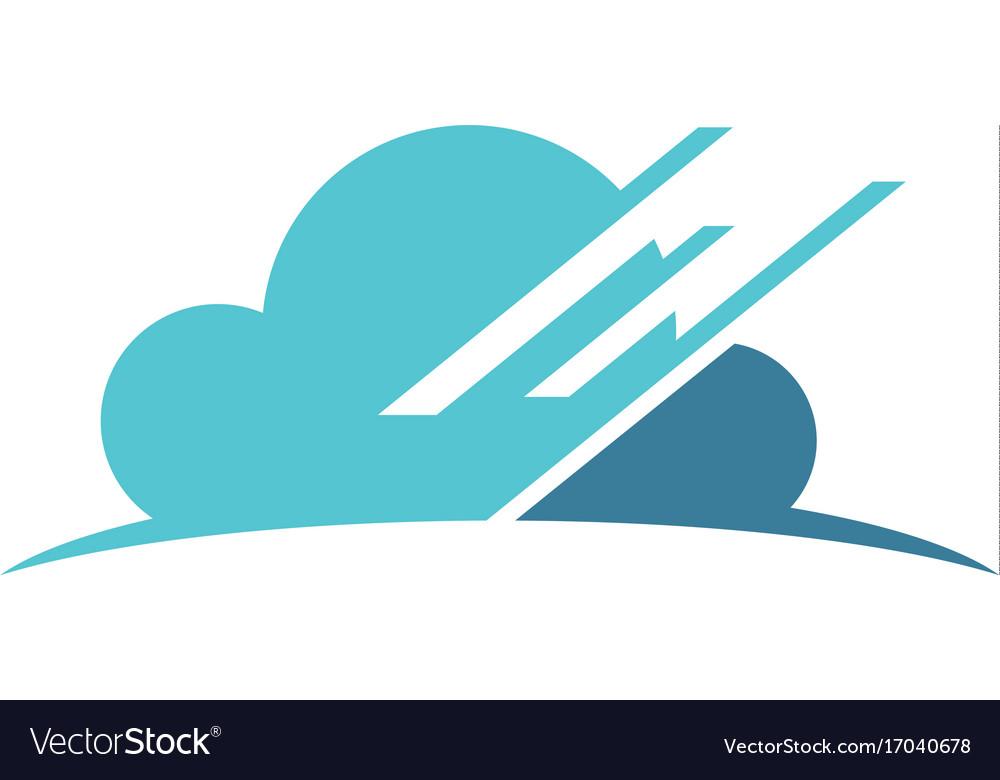 Cloud data technology logo