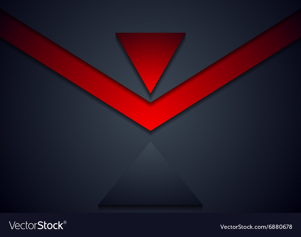 Dark corporate abstract background vector image