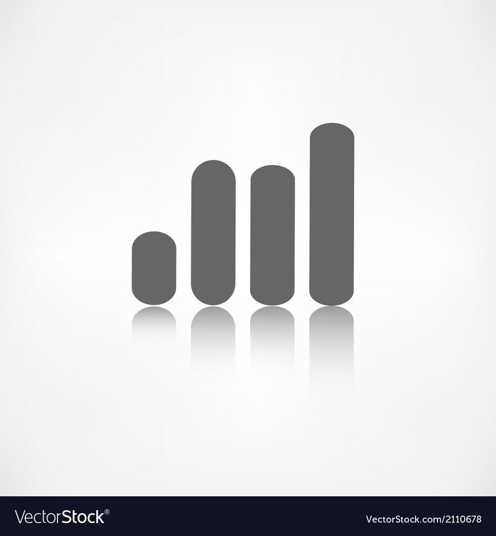 Graph icon Economic chart