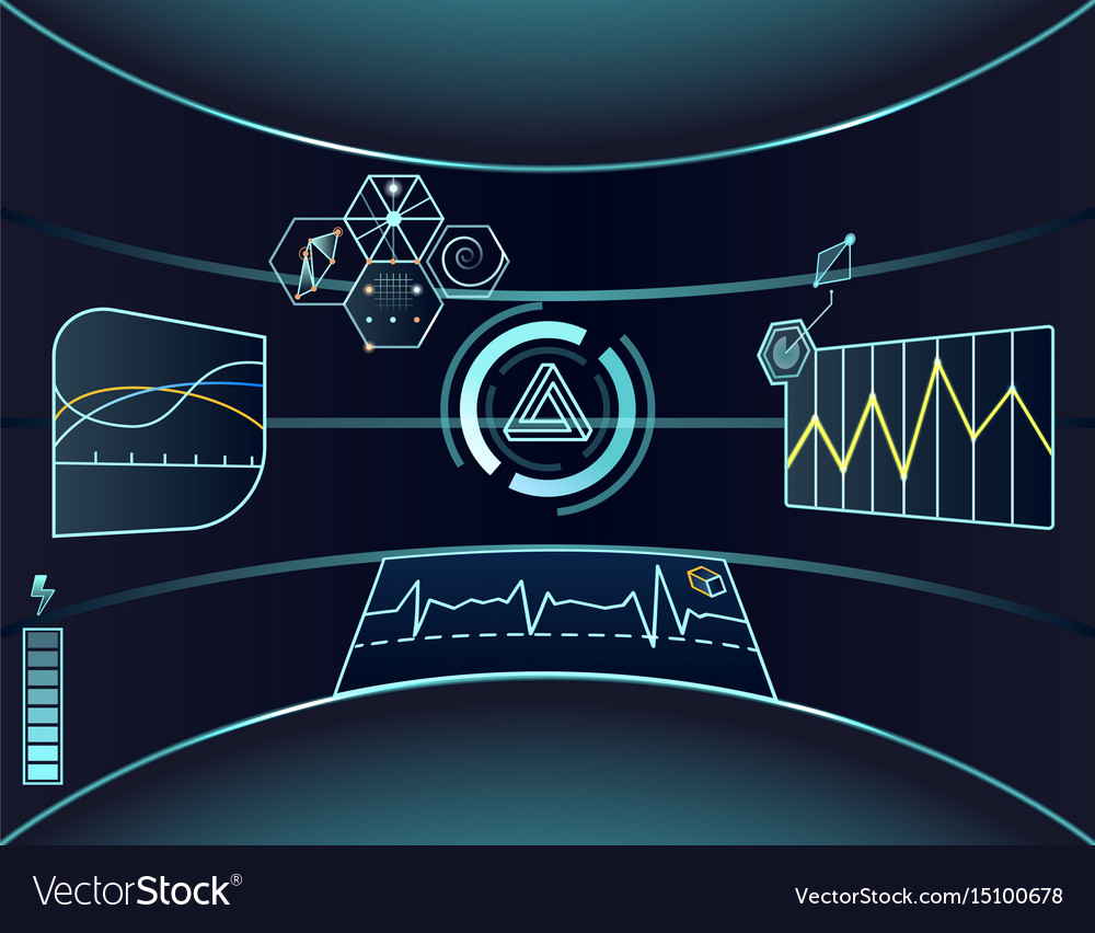 Interface of virtual reality