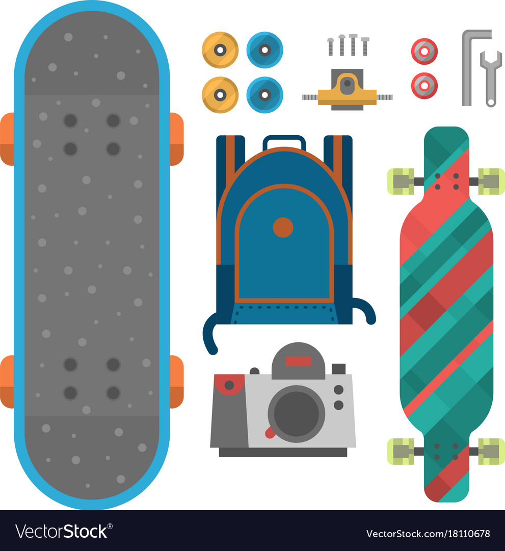 Skateboard fingerboard icon sport equipment