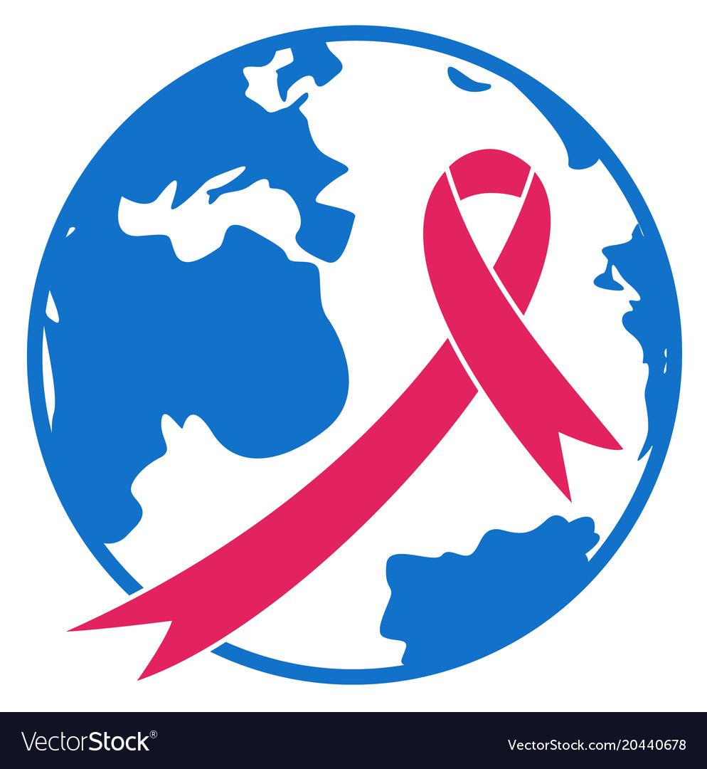 World cancer day sign icon