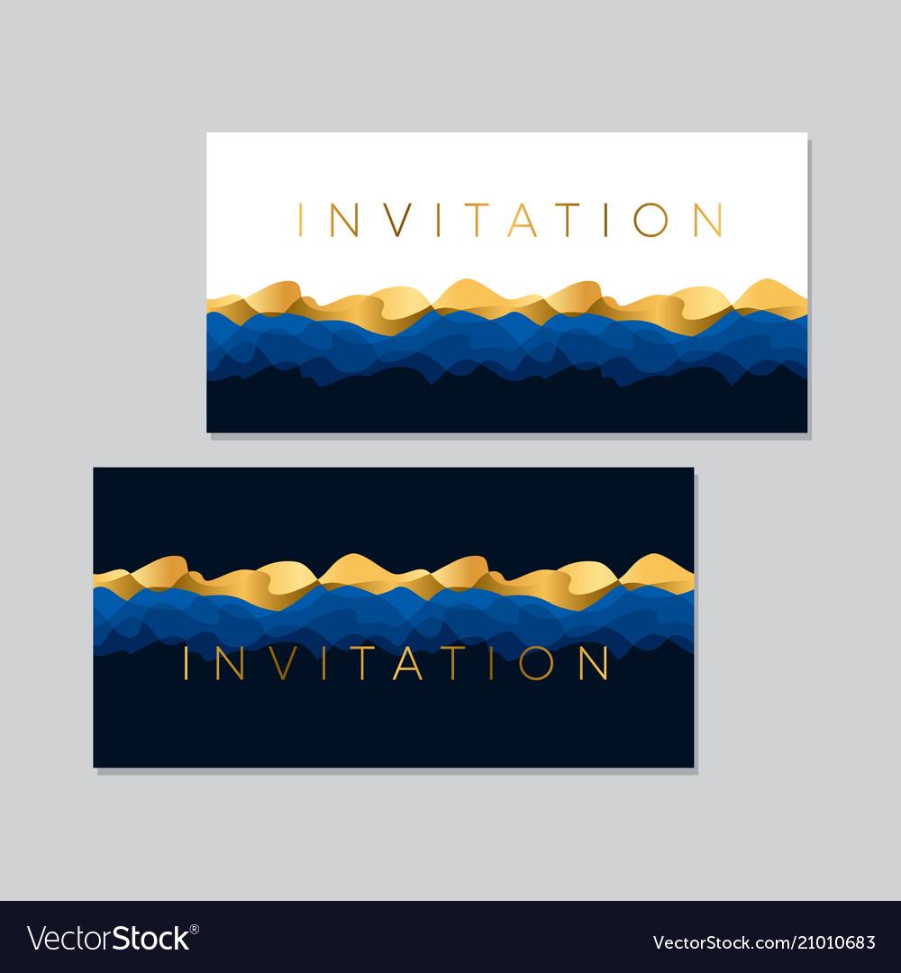 Concept luxury sea water waves pattern