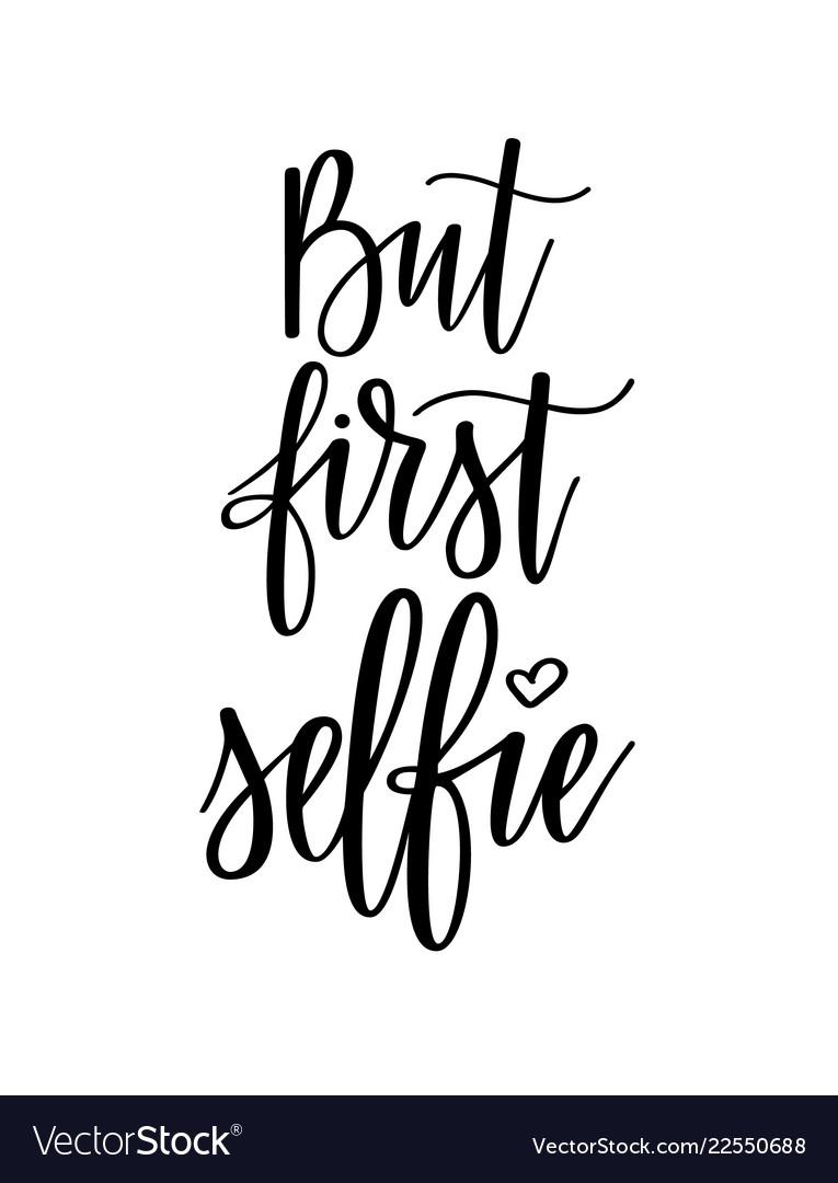 But furst selfie funny social media