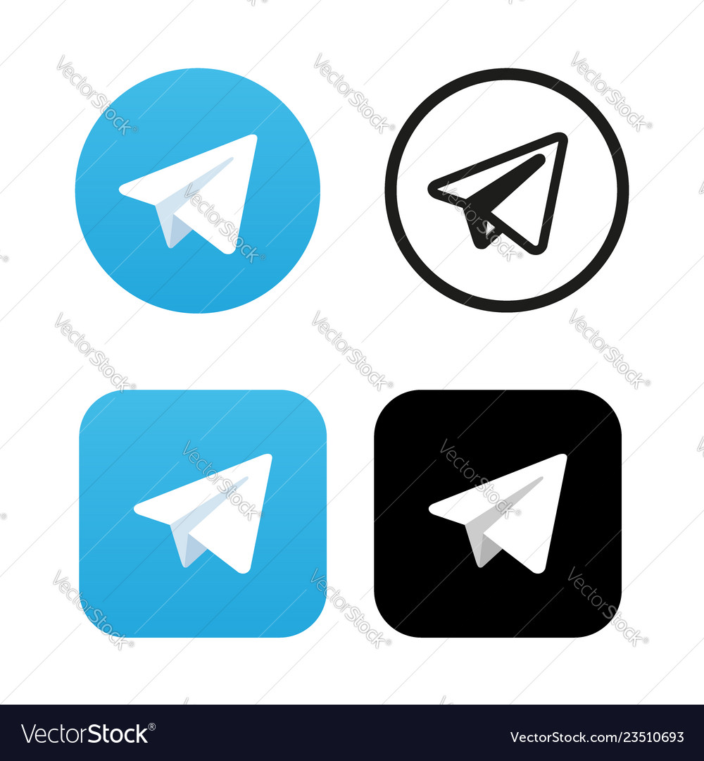 Aircraft blue button icon telegram icon