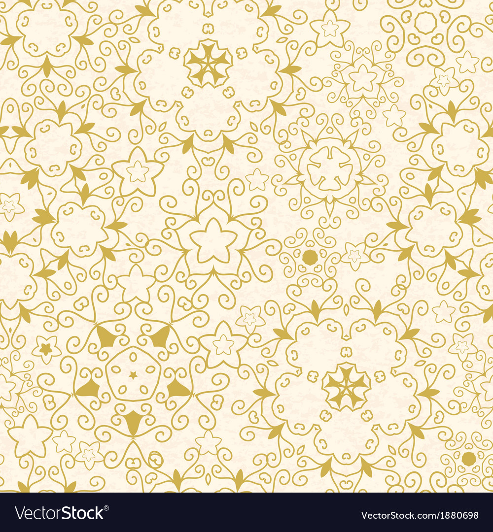 Abstract swirls old paper texture seamless pattern vector image