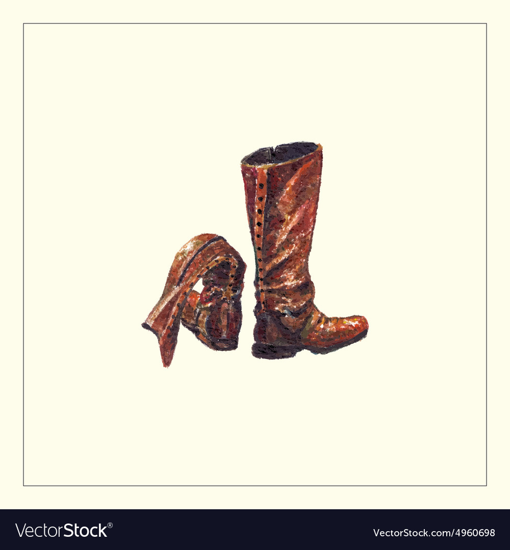 Boots2 vector image