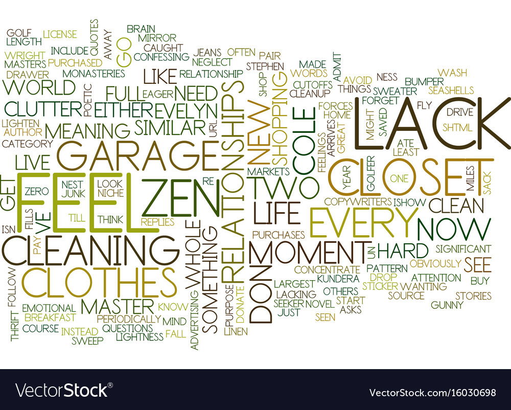 Lack lack fills a gunny sack text background word vector image