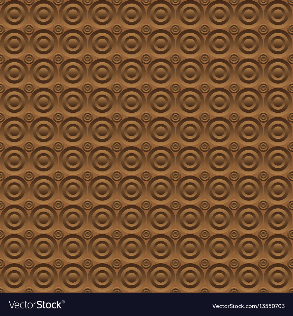 Abstract brown background circles volume