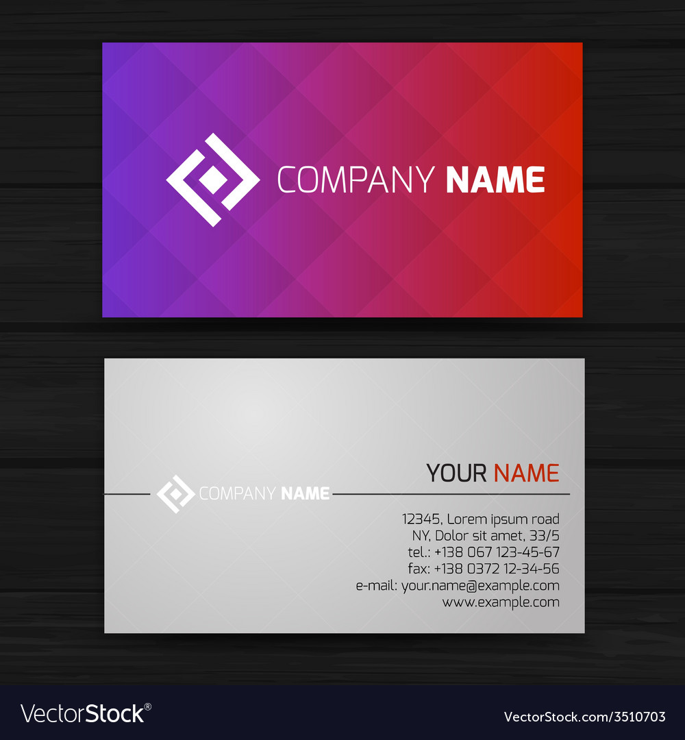 Abstract creative business cards royalty free vector image abstract creative business cards vector image reheart Image collections