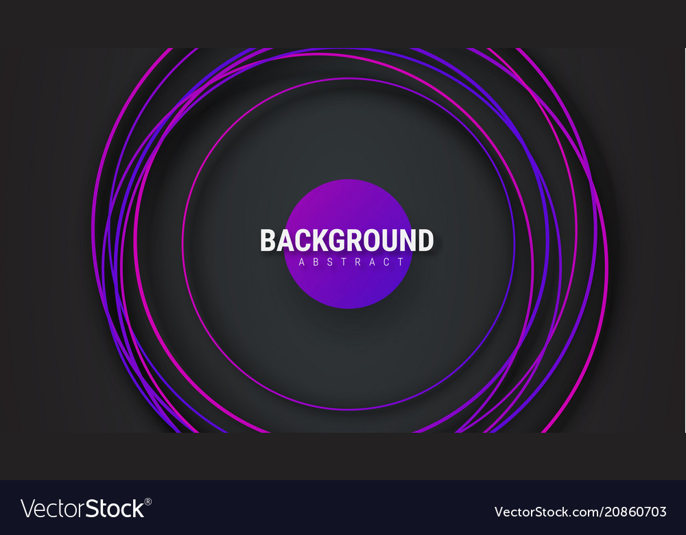 Black background with intersecting violet circles