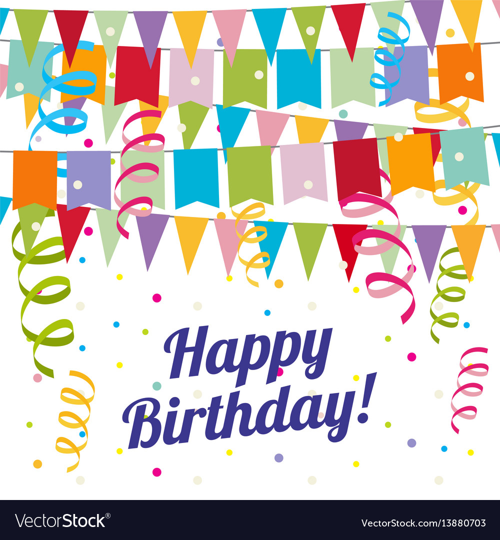Child carnival birthday party poster