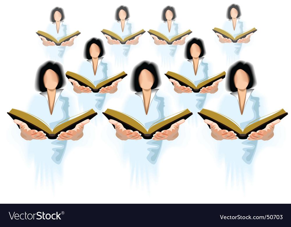Choir vector image