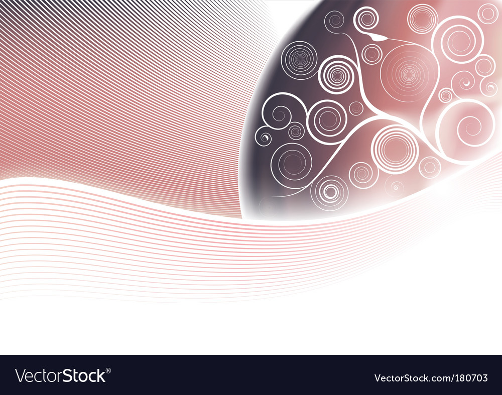 Floral softness vector image