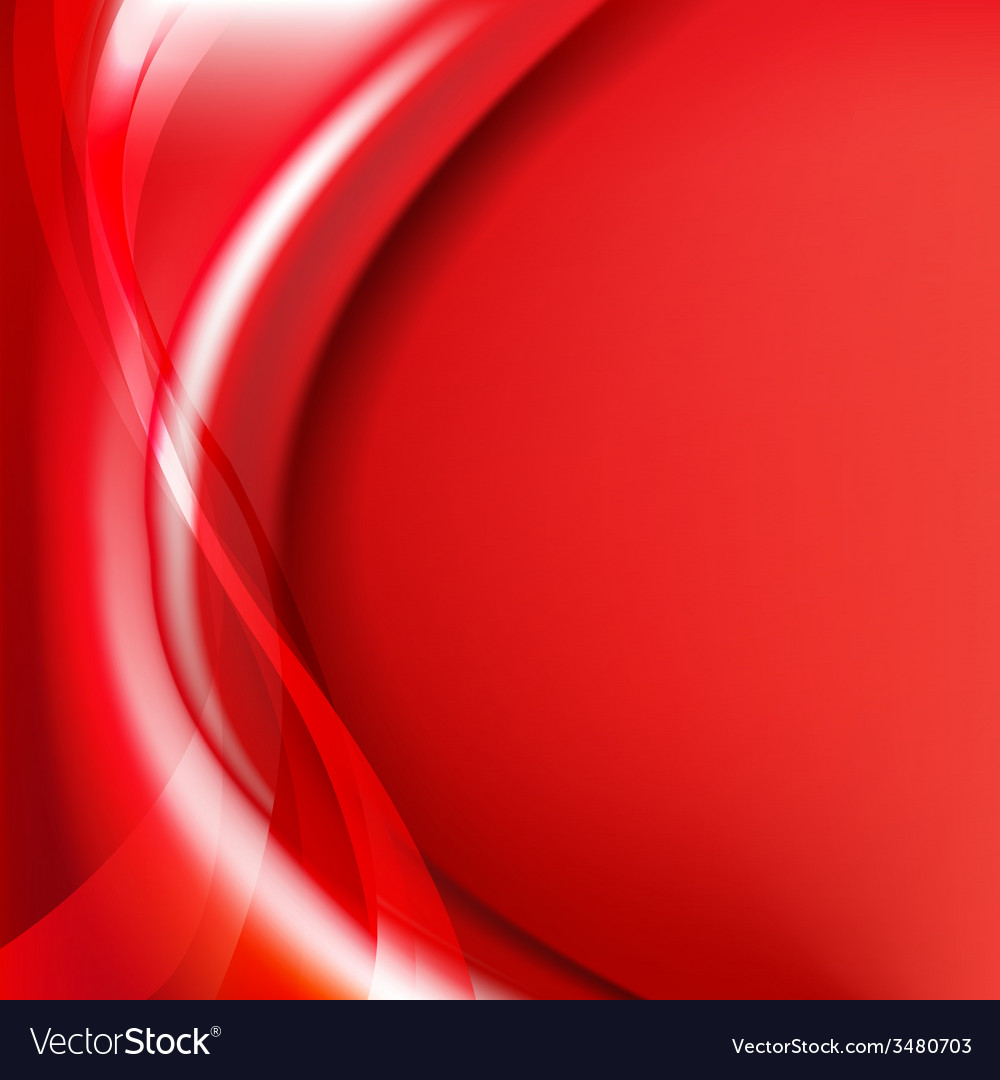 Red Background With Line vector image