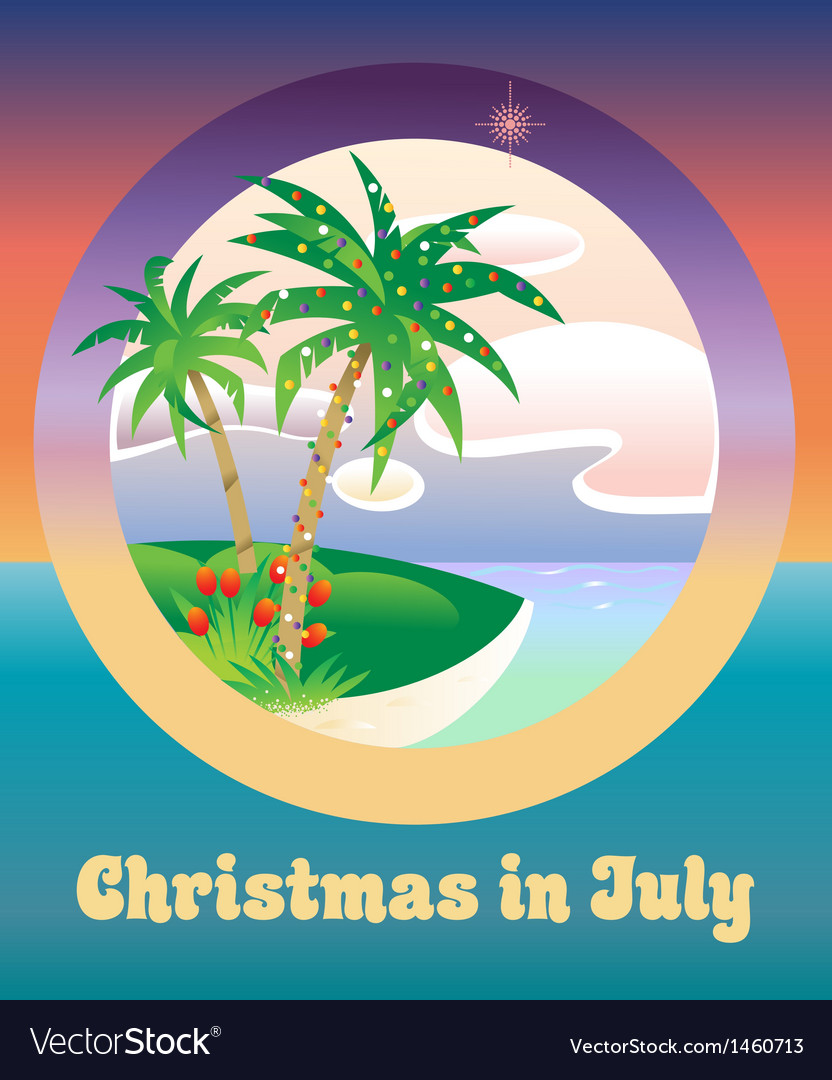 Christmas In July Royalty Free Images.Christmas In July