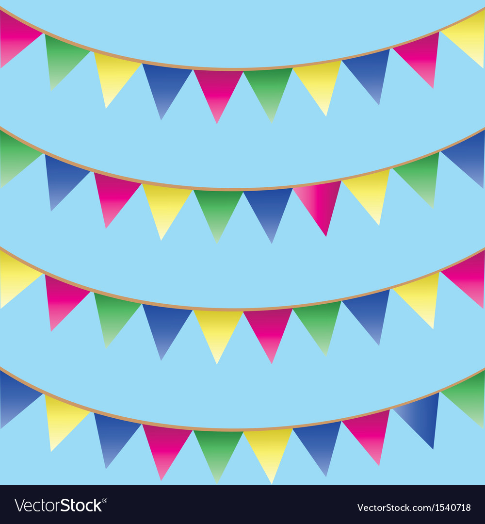 Seamless background with bunking vector image