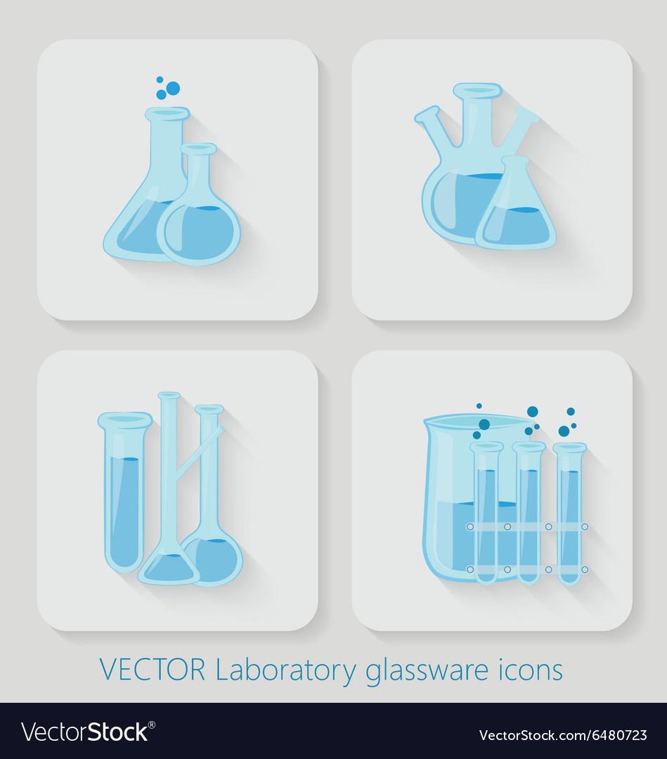 Laboratory chemical bottles glassware