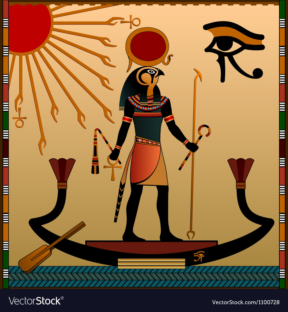 Religion of Ancient Egypt vector image