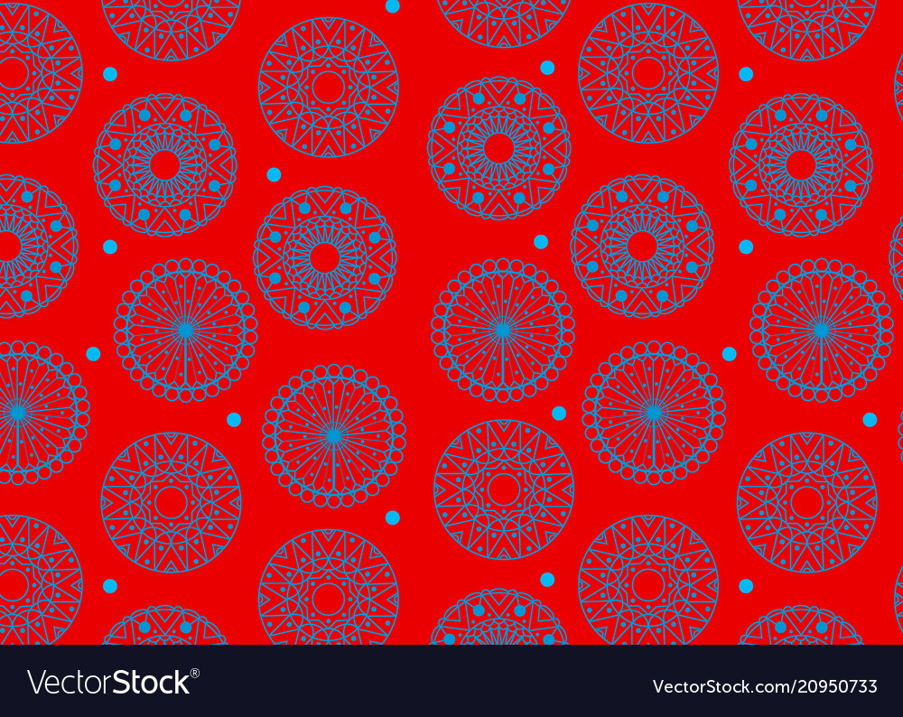 Color pattern seamless geometric vector image