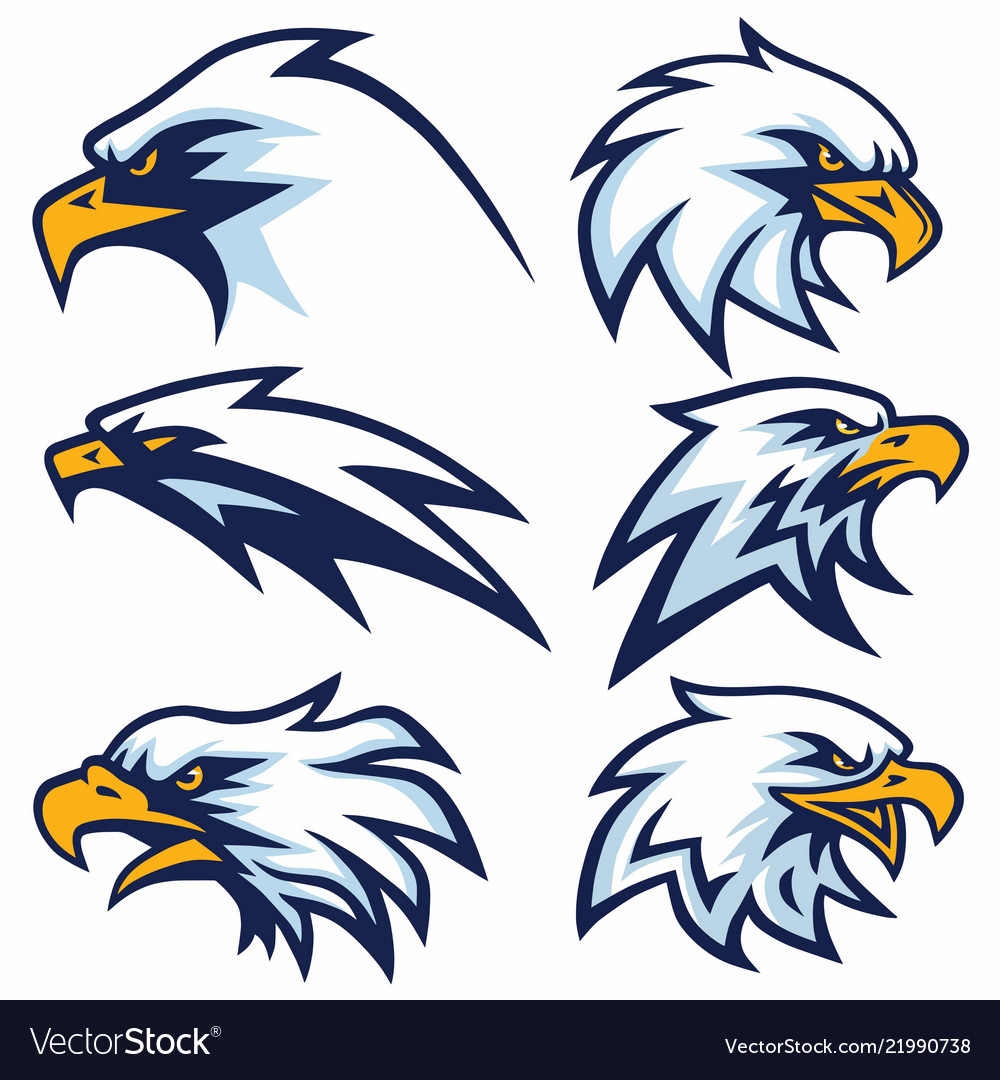 Eagle logo set