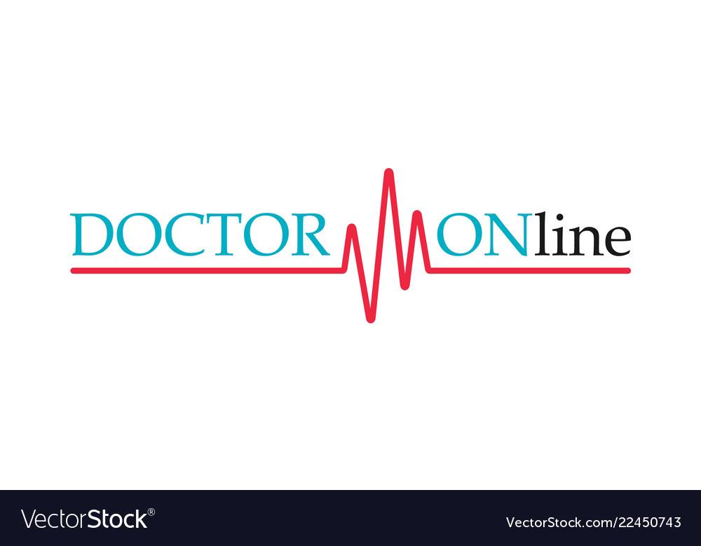 Doctors mobile app sign pulse line doctor online