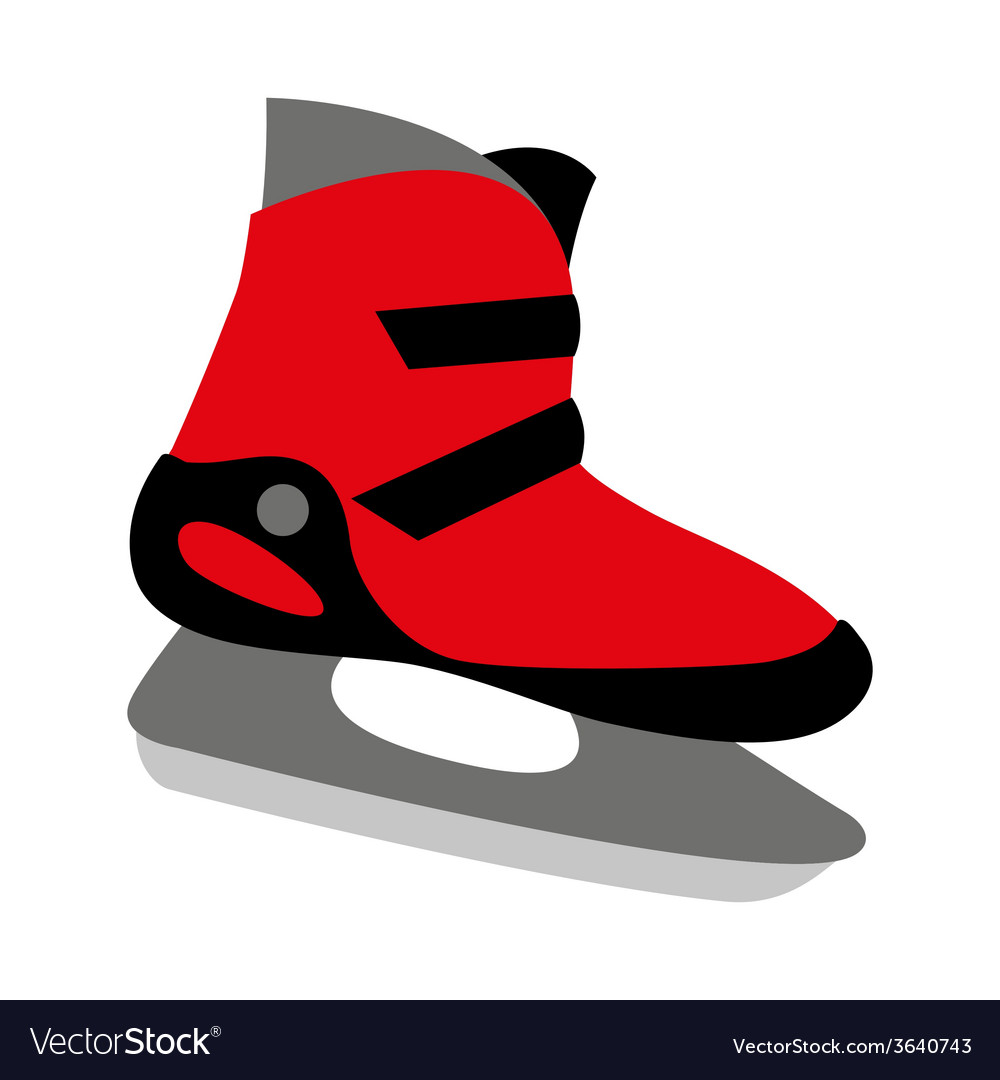 Ice Skates For Sale >> Red Ice Skates Mens