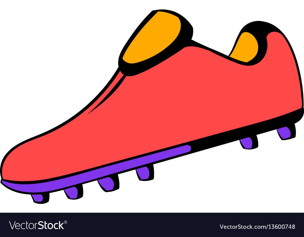 Football boot icon icon cartoon