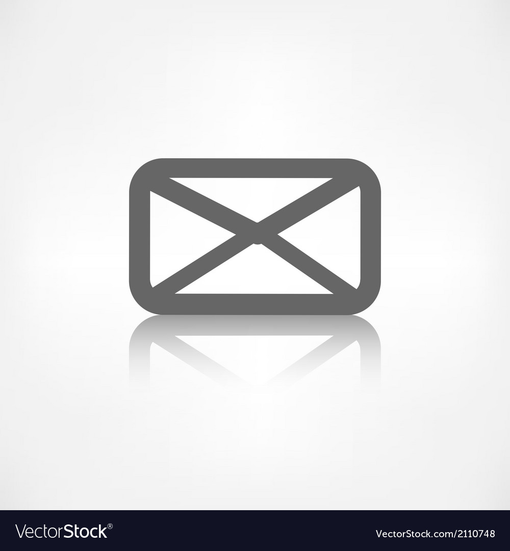 Letter icon Email message Sms