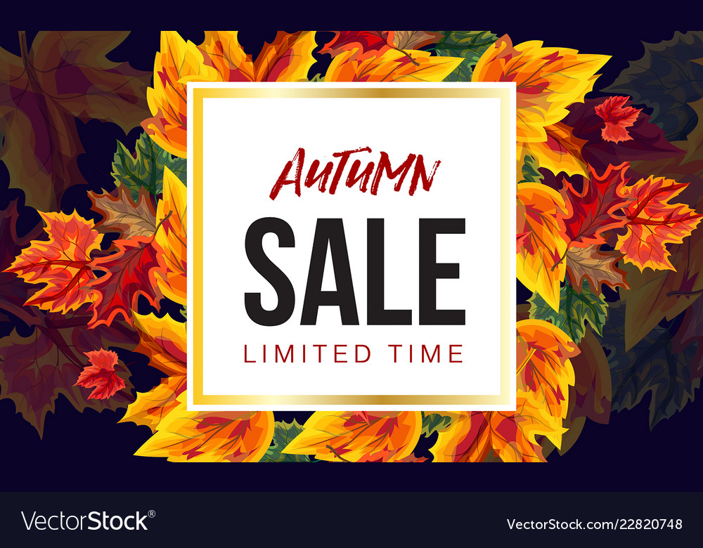 Trendy design of vivid banner with sale