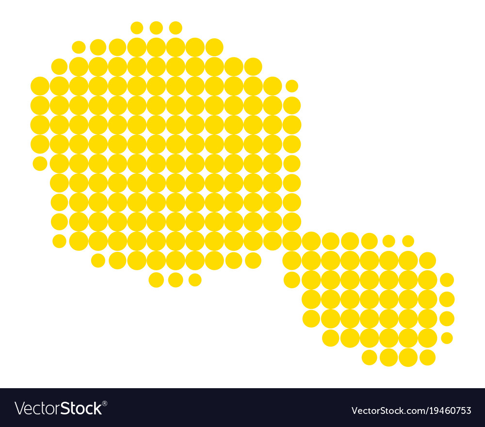 Map of tahiti Royalty Free Vector Image - VectorStock