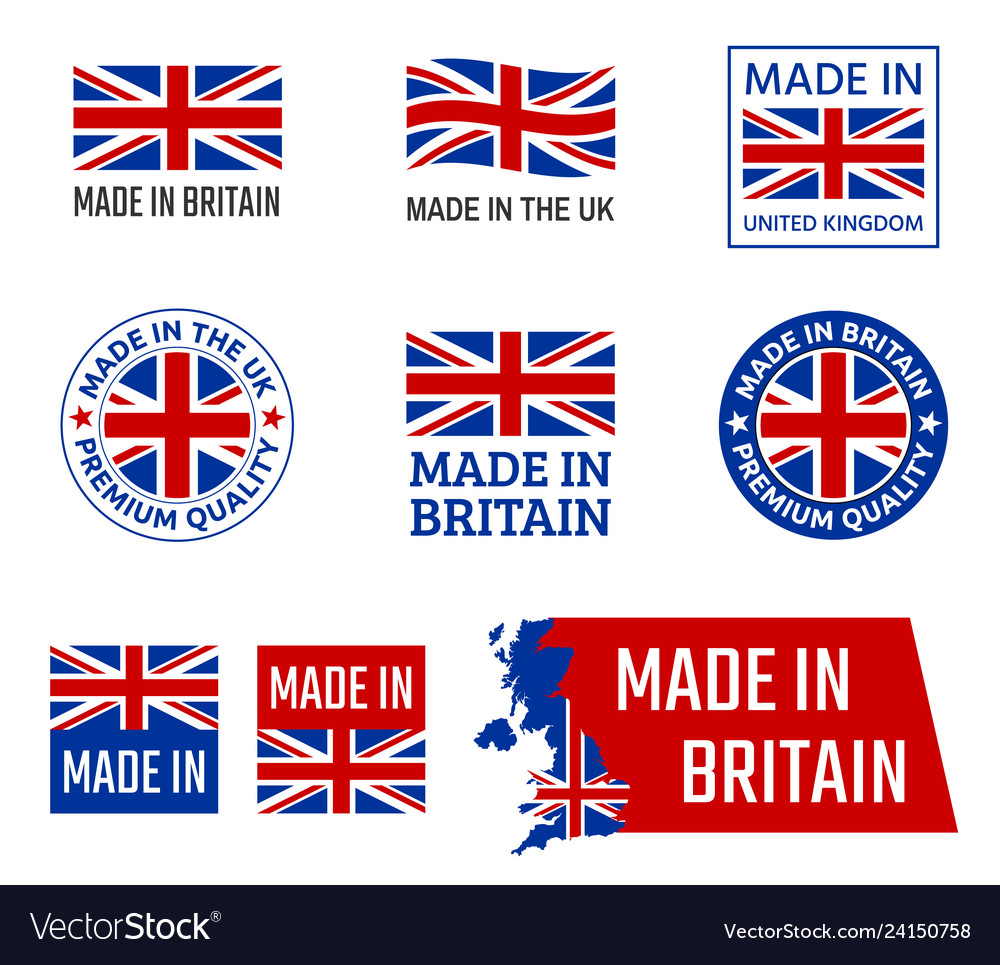 Made in united kingdom great britain product