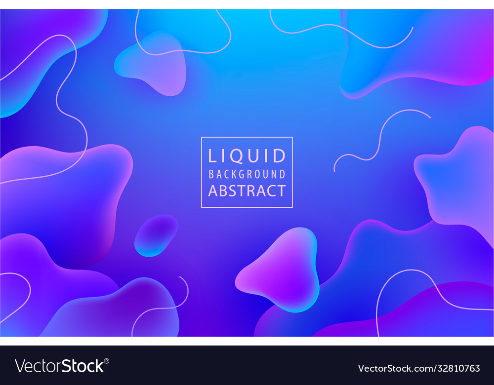 Abstract liquid flow background fluid