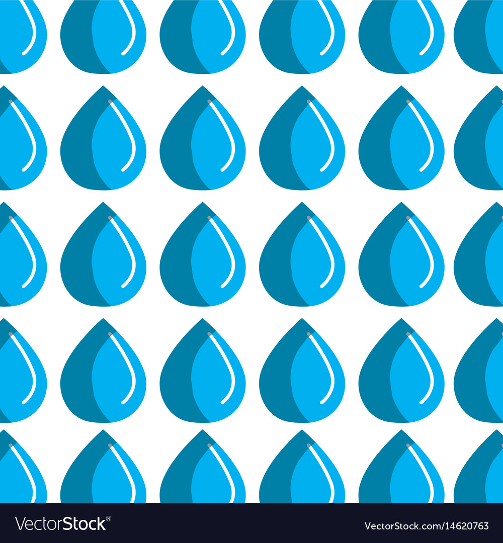 Blue line drop of water background