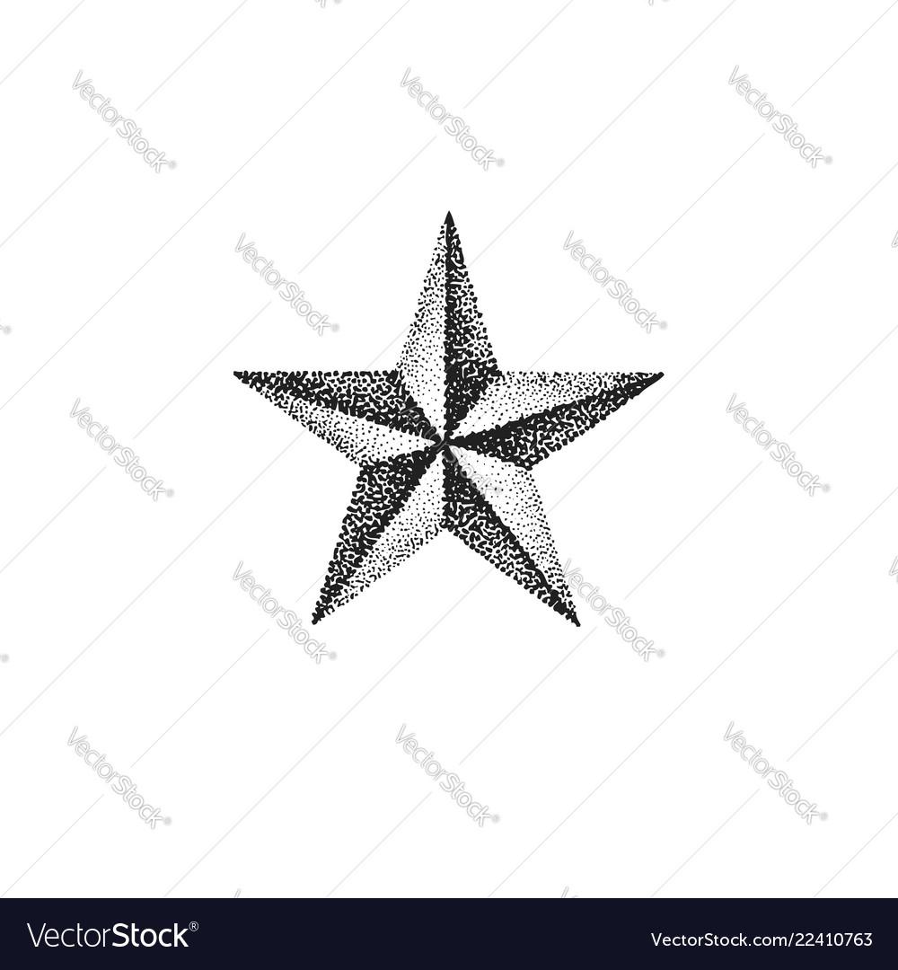 Hand drawn star shape