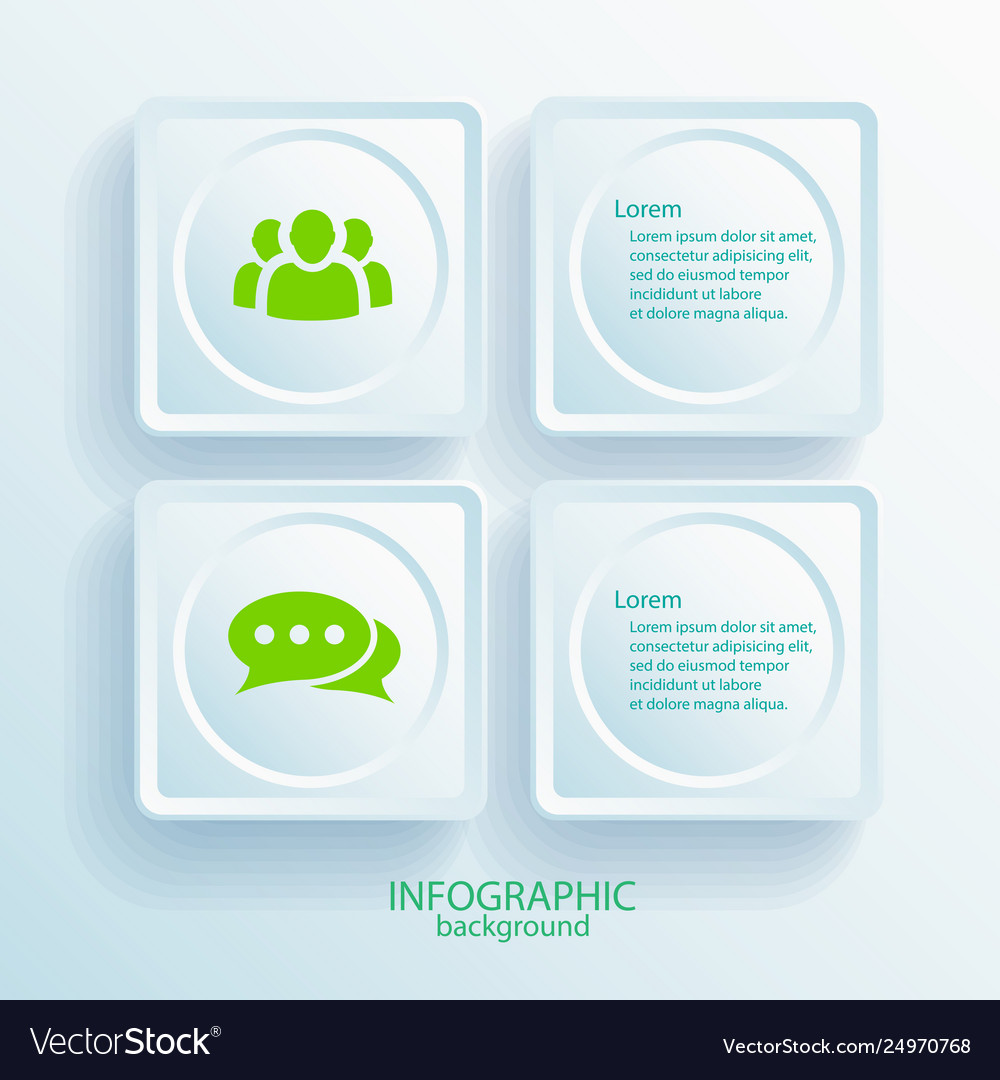Abstract business infographic template