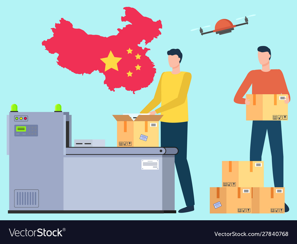 International delivery and worldwide shipping