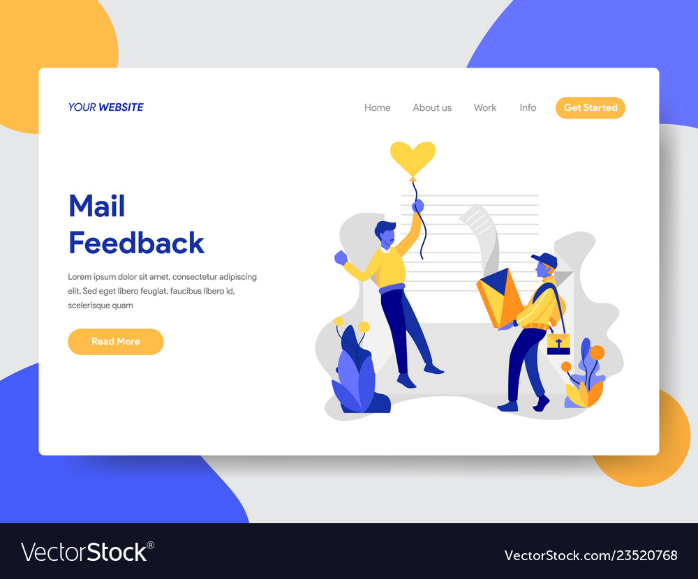 Mail feedback concept