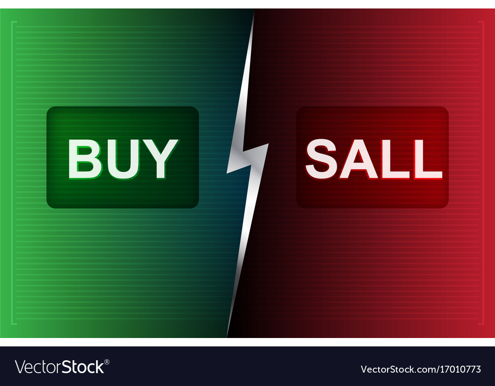 Buy and sell buttons on digital processing