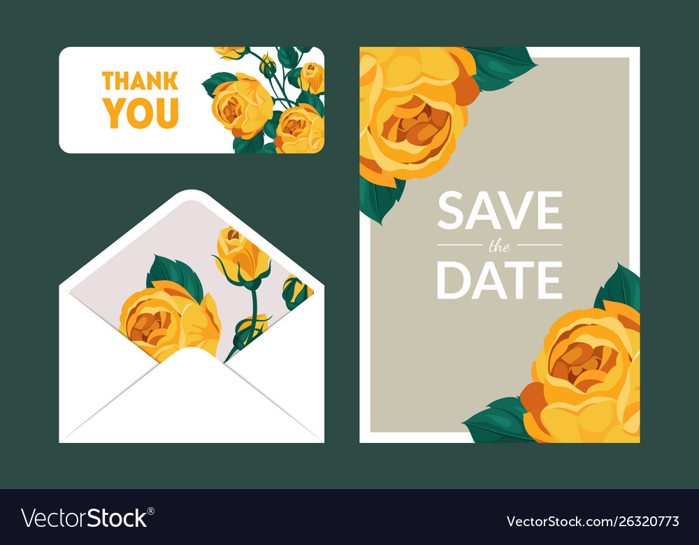 Save date holiday wedding invitation