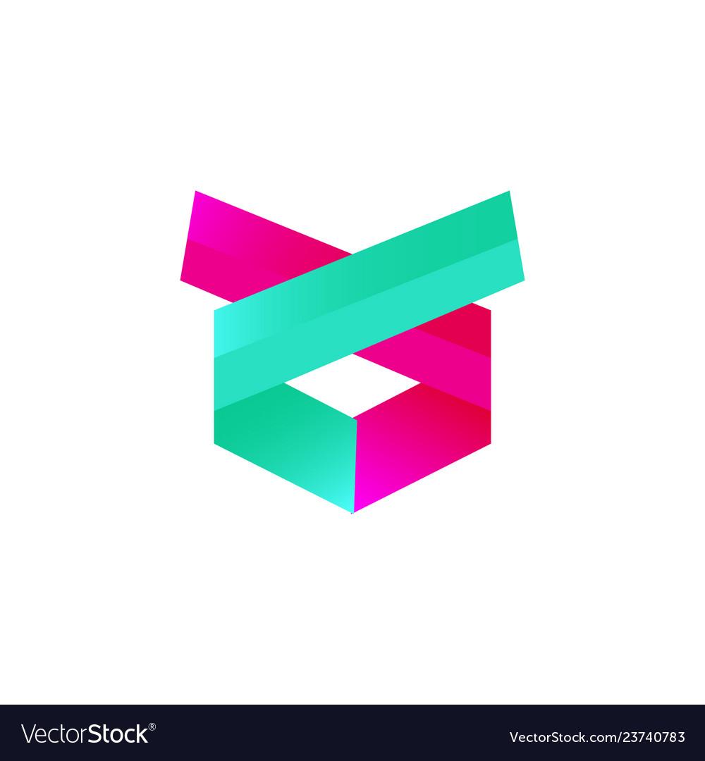 Abstract modern logo deisgn