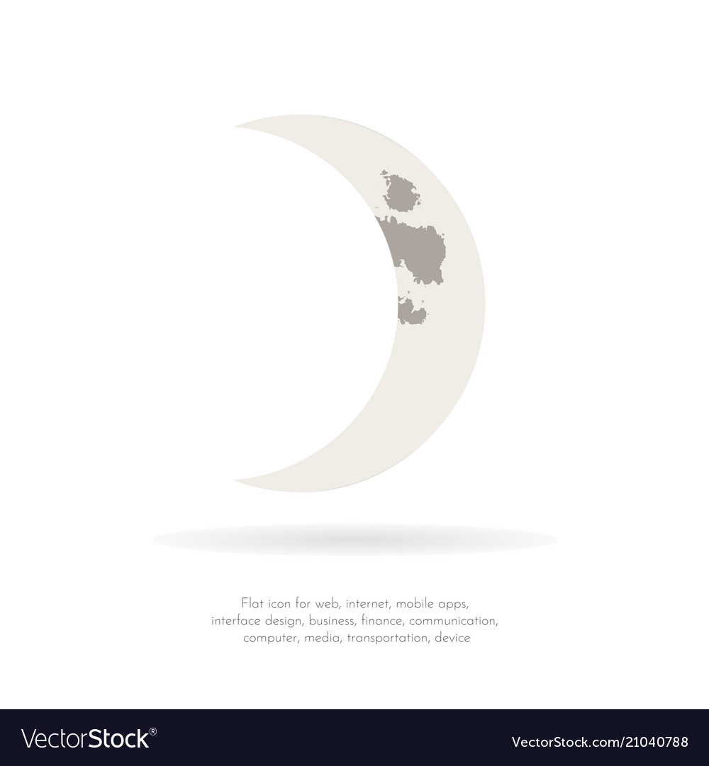 crescent moon 4 royalty free vector image vectorstock crescent moon 4 royalty free vector image vectorstock