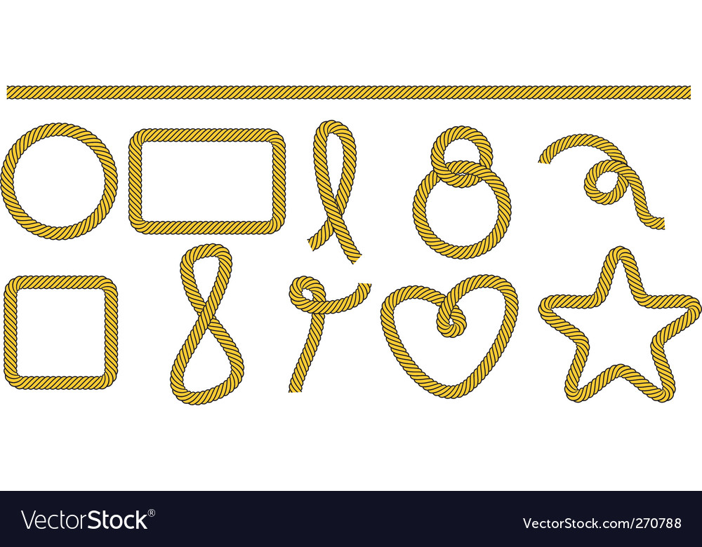 Set of frames and shapes Royalty Free Vector Image