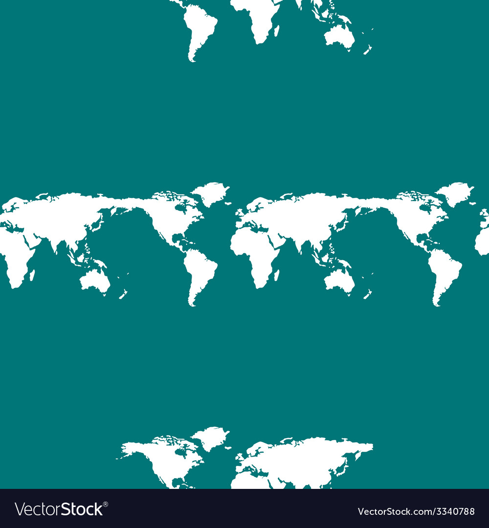 World map web icon flat design seamless gray vector image gumiabroncs Gallery