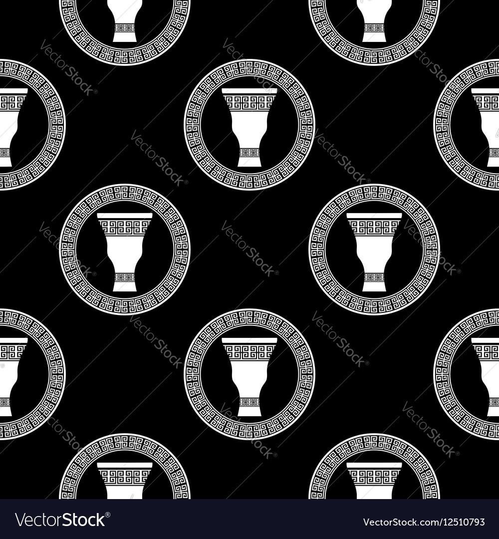 Greek Vase Seamless Pattern