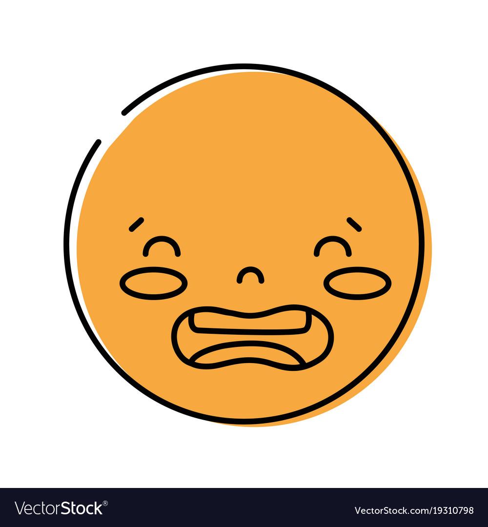 Disgust emoji vector images 41