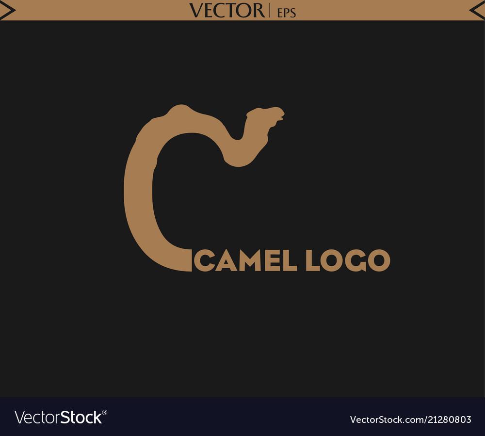 Camel letter logo
