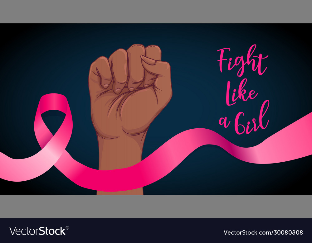 Fight like a girl breast cancer awareness month