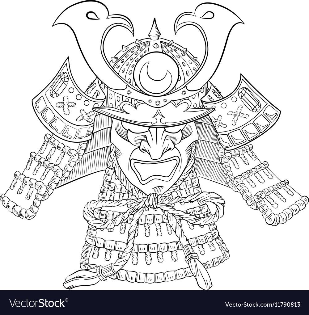 Samurai Japan Mask