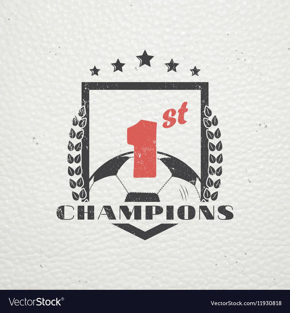 Set of Soccer Football Club Sport Team Detailed vector image
